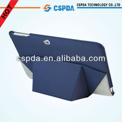Ultra-thin blue color canvas tablet stand case for Acer Iconia Tab W510 10.1''