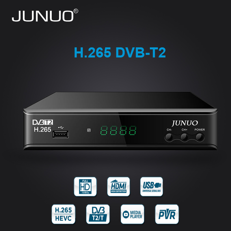 best selling products free tv channel receiver hd mpeg4 dvb t2 h.265 dvb