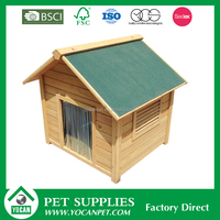wooden dog house factory
