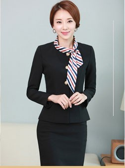 Free sample best office staff uniform designs for women for Office uniform design catalogue