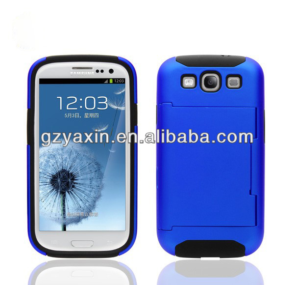 Color changing case for galaxy s3 i9300,For Samsung Galaxy S3 SIII i9300 Case with kickstand