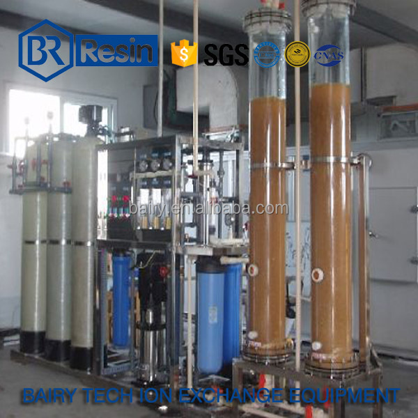 500L/H Ion exchanger system industrial distilled water treatment unit