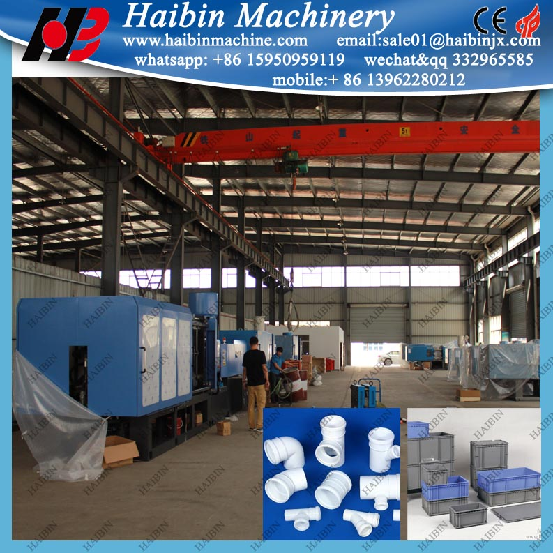 plastic crate basket preform injection moulding machine 100 t