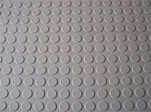 rubber coin mat 6mm thick gray gum rubber sheet