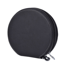 Big Storage Leather CD Case For Car/Home/Office And Travel