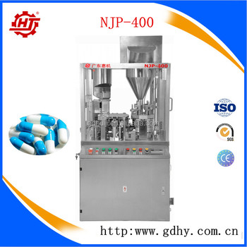 NJP-400 Automatic capsule filling machine for powder pellet