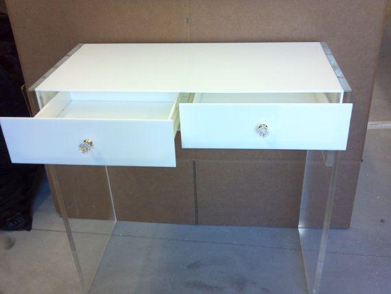 acrylic dressing table  Acrylic Vanity Personal Desk Dressing Table - Buy Acrylic Dressing ...