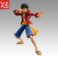 Custom Make Anime Plastic Action Figures / Hot Anime One Piece PVC Action Figure Luffy Model Action Figures