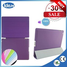 Ultra Thin Slim Light Three Fold Leather For ipad case/For ipad air case/For ipad air 2 case