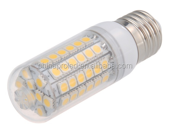 Factory direct sell led corn light bulb e27 SMD5050 5w 7w white/warm white