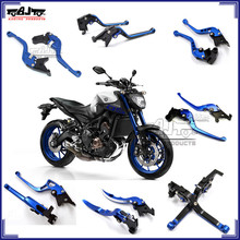 CNC Aluminum Levers for Yamaha MT09 Adjustable Motorcycle Brake Clutch Lever