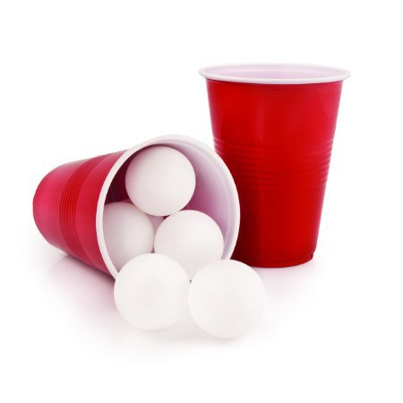 Plastic bulk packed ping pong ball
