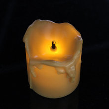 new fashion luminara led tealights wholesale mini pillar candle warmer factory driret price tear drop candle