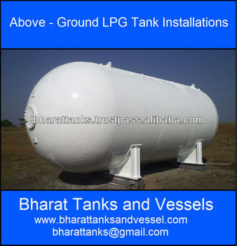 """Above - Ground LPG Tank Installations"""