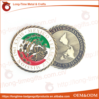 MEXICO CHALLENGE COIN