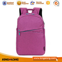 Hot selling school bags with solar charger with low price