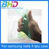 New products tpu bumper case for samsung note 4 paypal made in China