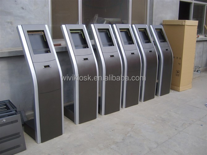 19inch hospital queue management system with touch screen