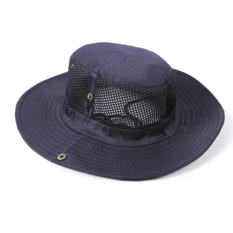 Wide Brim Men Women Bucket Hat With String Waterproof Outdoor Fishing Hunting Hat Fisherman Bone Caps Mountain Climbing Sun Hat