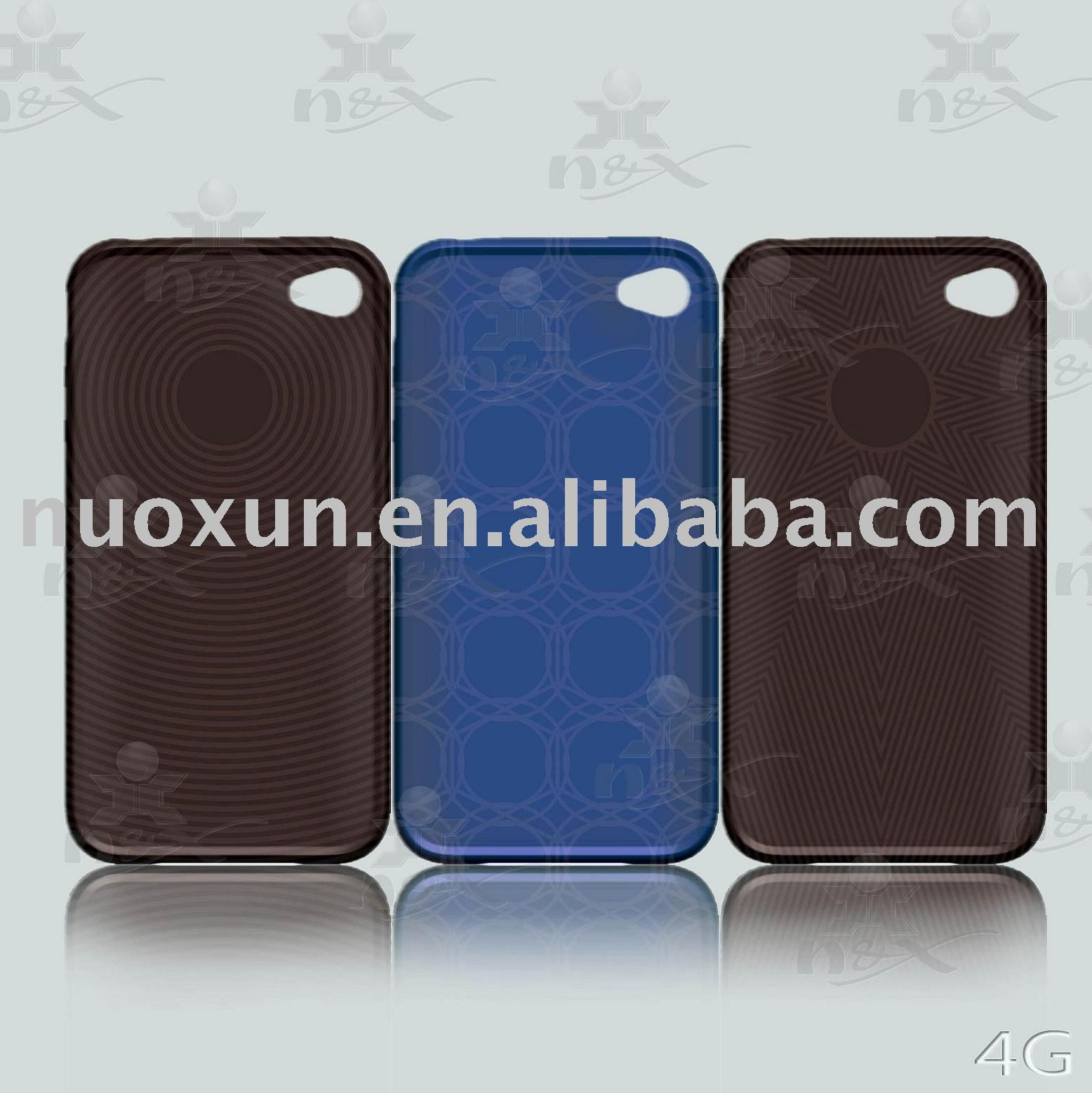 Great cheap Pure TPU cell phone covers for Iphone 4G