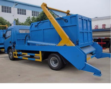 High lifter truck hook lift garbage truck small roll arm garbage truck for sale