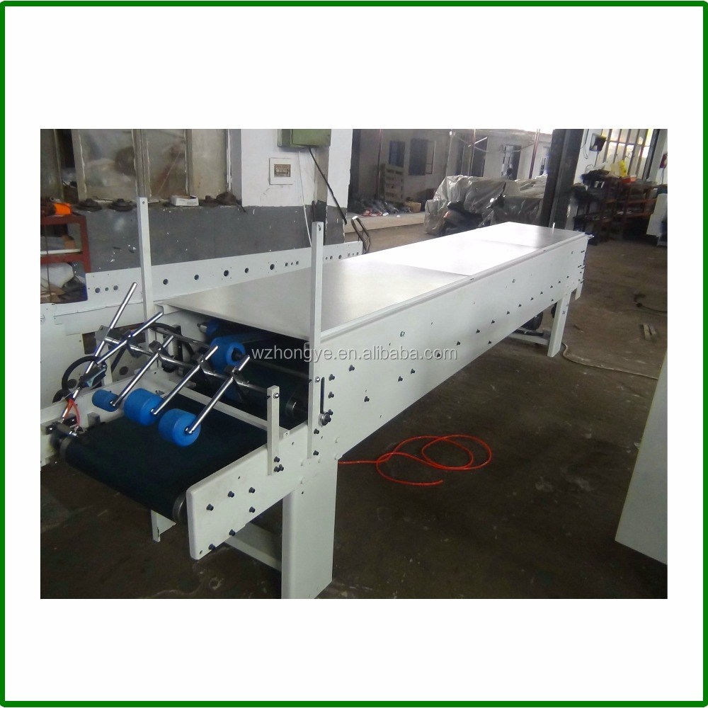 ZH-880PFT-H Automatic Cardboard Paper Box High Speed Folding and Gluing Machine Folder Gluer