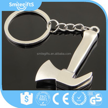 High Quality Popular Wholesale Hardware Bronze Axe Tool Key Chains