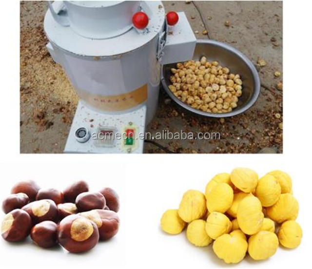high capacity chestnut huller chestnut hulling machine