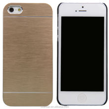 Newest Luxury Motomo For Apple iPhone 5 5S Aluminum Metal Brushed Hard Slim Case Cover