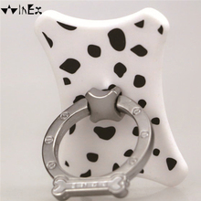 Lovely Bone ABS material Patented Brand Finger Ring Phone Holder for Iphone , Android