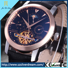 Full Automatic Mechanical Movement Waterproof Stainless steel Branded Wrist Watch for Men
