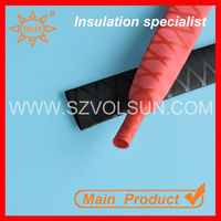 Colored X_Pattern Non-slip heat shrink sleeve for lacrosse