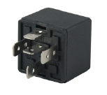 12V 30A automotive (car) relay(Diode) black plastic bracket,5 pins,REF NO. BOSCH 0332019155