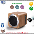 alibaba best sellers wooden portable mount bluetooth speakers with 10W capacity for bamboo iphone speaker BSW18