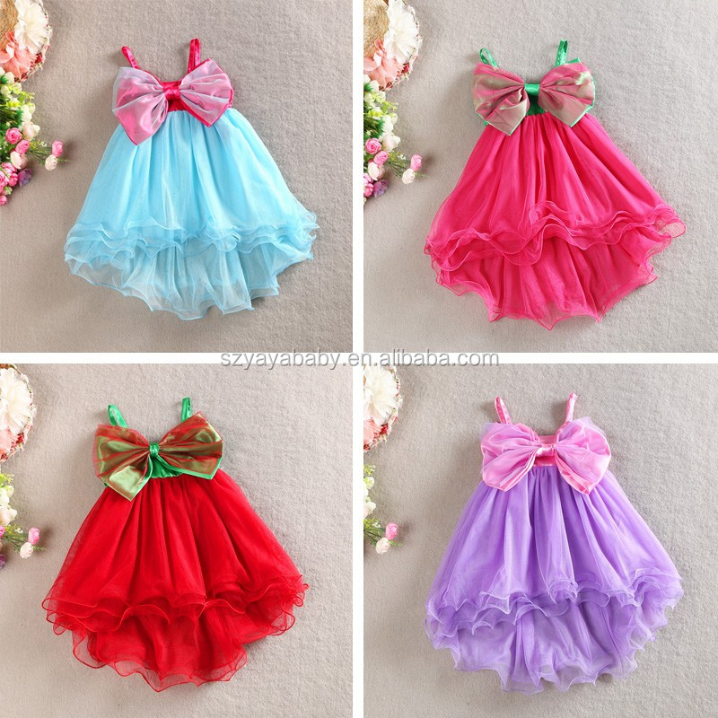 fashion kids party wear girl dress casual dresses for kids