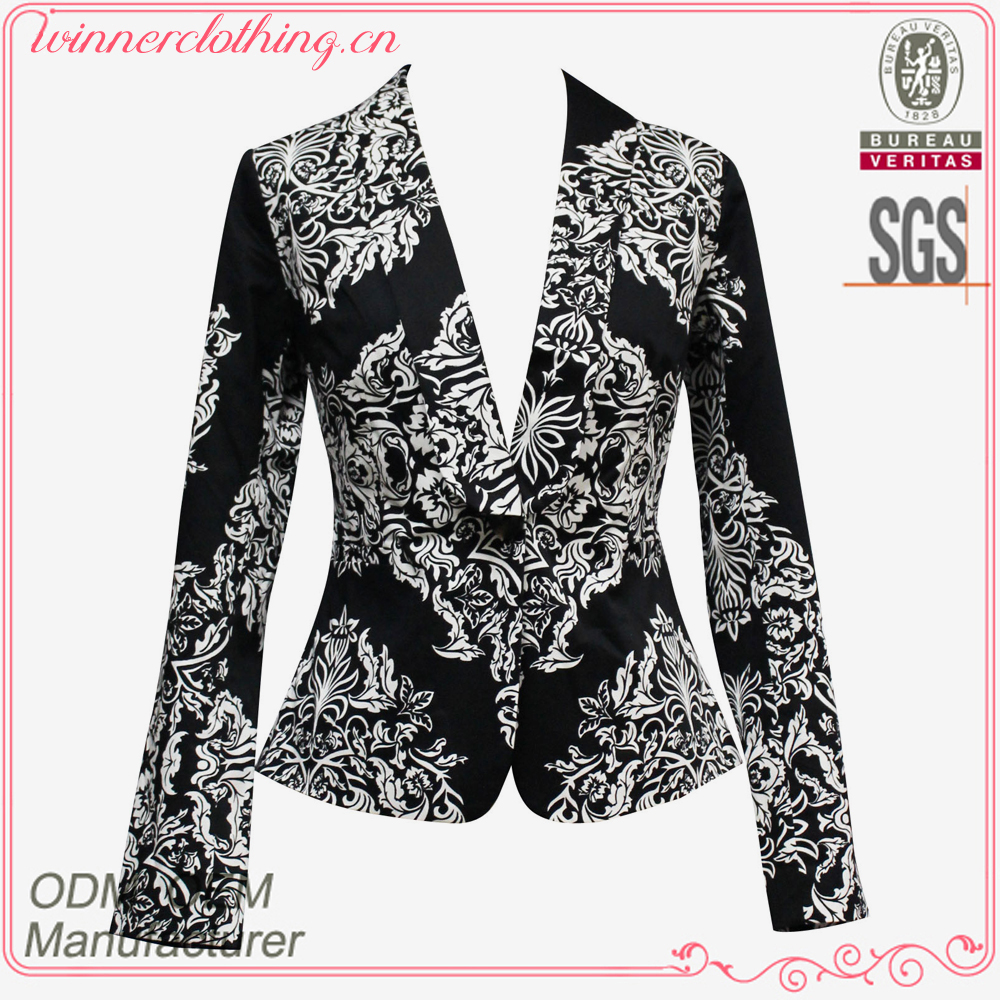 Elegant women's printed evening wraps and jackets