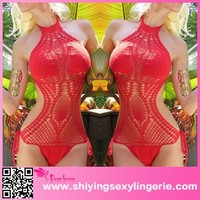 top selling products 2015 Red Halter custom swimsuit sublimation sexy brazilian exotic swimwear bikini sexy Crochet Monokini