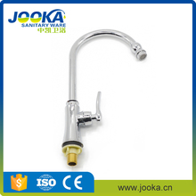Finely processed single cold zinc alloy kitchen mixer faucets