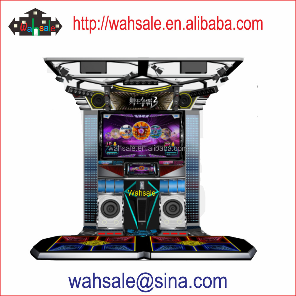 Wahsale arcade music and dance game machine