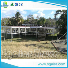 School Activity/Stage Aluminum Plywood Portable Stage/Stage Platform For Concert
