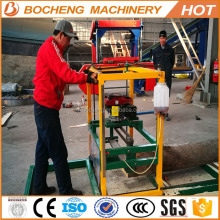 Portable Wood Cutting Machine / Chainsaw Mills For Sale