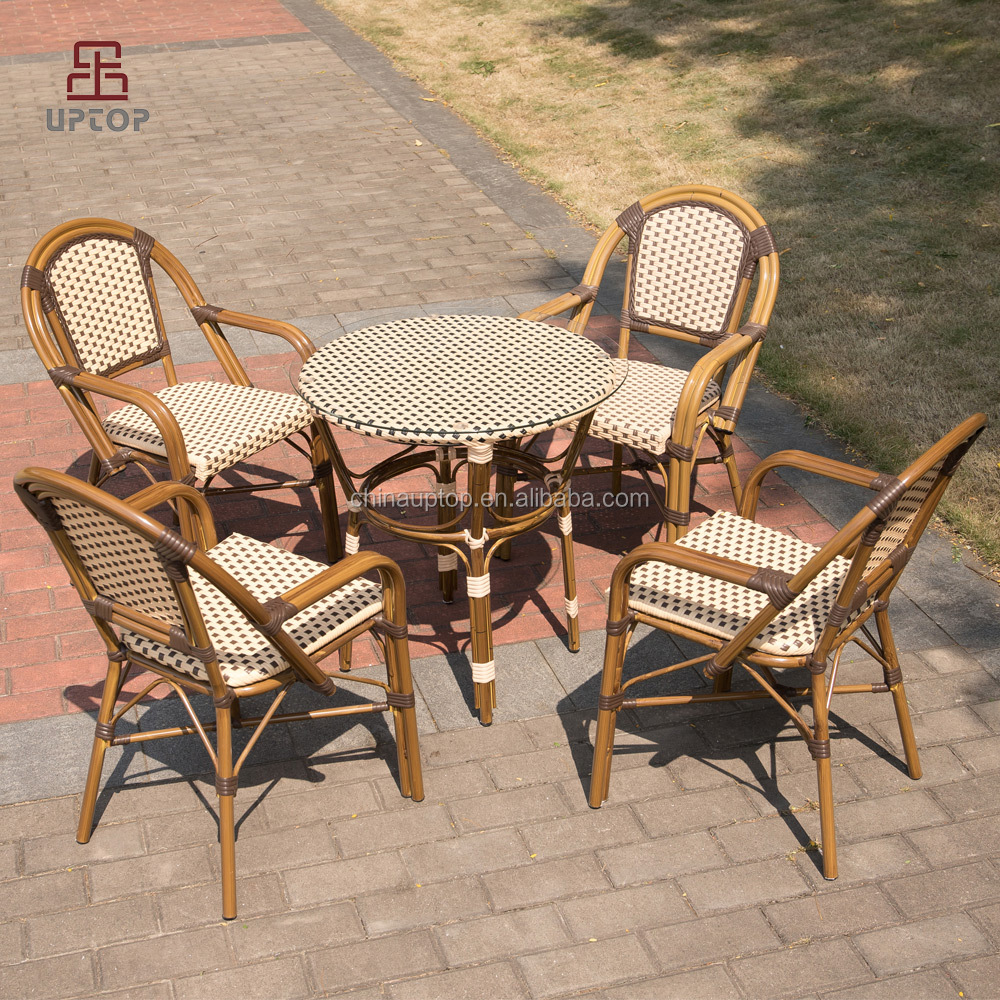 Pe Rattan Outdoor Bistro Table And Chair, Pe Rattan Outdoor Bistro ...