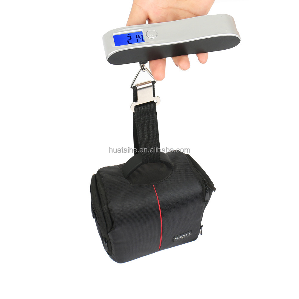 brand customized digital portable hanging travel luggage scale with power bank
