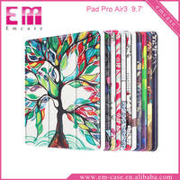 Wholesale Tablet Printed Colorful Leather Case For iPad Pro Air3 Flip Stand PU Covers