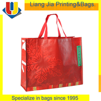 Glossy Laminated Non-woven Polypropylene Shopping Tote Bag