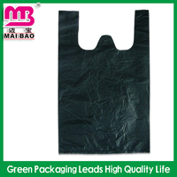 custom biodegradable disposable plastic garbage bag wholesale
