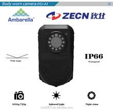 Waterproof body worn camera recorder with Laser Position function