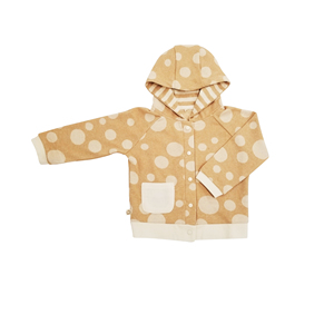 China Express Portable 100% Organic Cotton Long Sleeve Baby Coat Winter