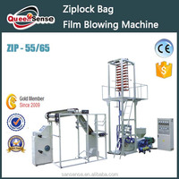 Similar Products Contact Supplier Leave Messages Zip bag film making machine/ ziplock film blowing machine/ film blowing