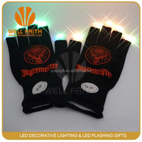 Magic light up LED finger gloves LED Gloves for cool people
